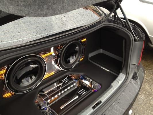 Bmw 328 Trunk Custom Made By Affliction Car Audio Yelp