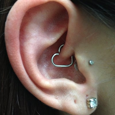 daith with continuous heart yelp