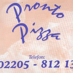 Pronto Pizza, Cologne, Nordrhein-Westfalen, Germany