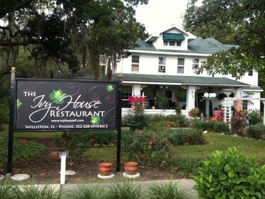 The Ivy House Restaurant Williston Fl