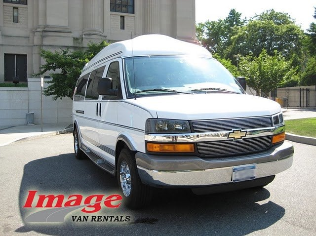 15 Passenger Conversion Van Rentals By