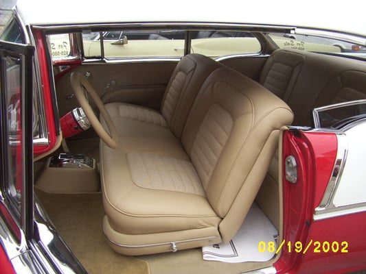 55 chevy interior yelp. Black Bedroom Furniture Sets. Home Design Ideas