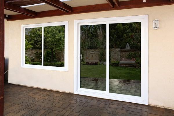 Vinyl new construction and retrofit windows doors yelp for New construction vinyl windows reviews