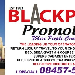 Blackpool Promotions, Glasgow, Lancashire