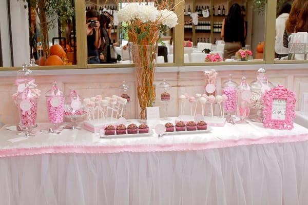 baby shower dessert table yelp