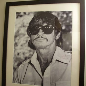 Why Charles Bronson was in the men's bathroom?!?!?