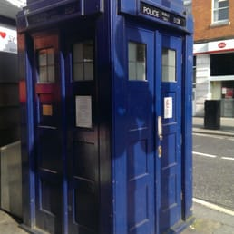 One of my favorite spots in London!!! The Tardis!