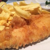 Large haddock and chips
