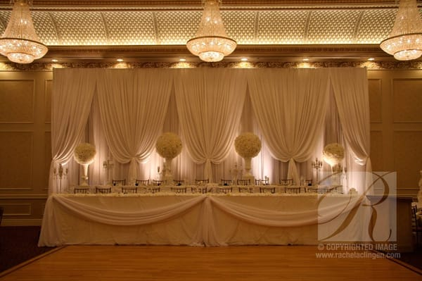 Wedding Backdrop At Le Jardin In Toronto | Yelp