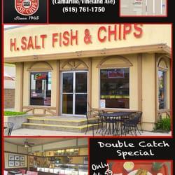 H salt esquire fish chips 61 photos seafood north for H salt fish