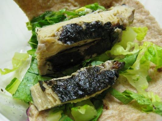 Vegan fish taco innards yelp for Vegan fish tacos