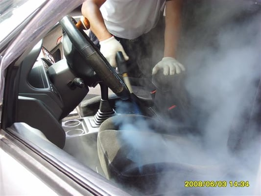 steam cleaning of car seats yelp. Black Bedroom Furniture Sets. Home Design Ideas