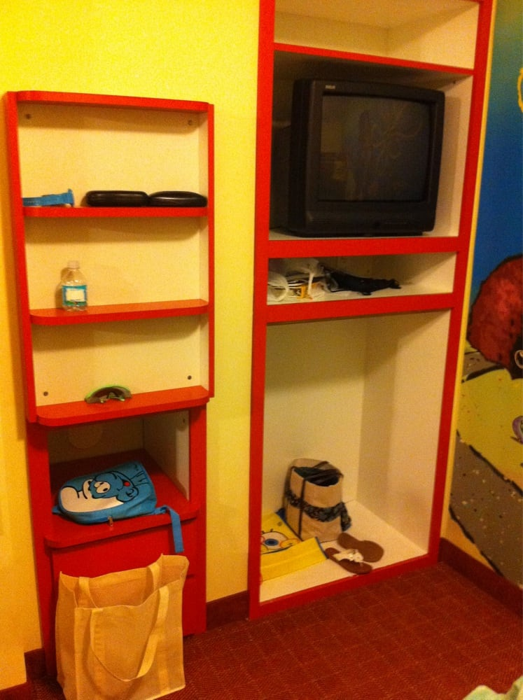 Comkids Room Tv Stand : Book shelf/ built in tv stand in kids bunk bed room  Yelp