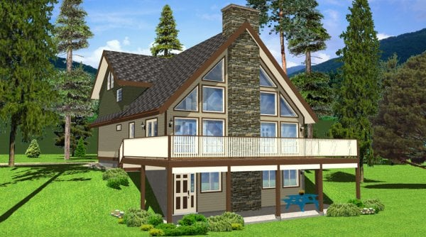 A Frame Cottage Vacation Home Plans Yelp