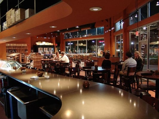 The wine shop at rivergate american new charlotte for The rivergate