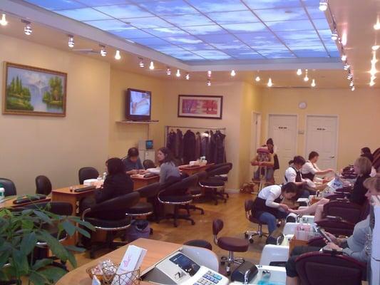 Elegante nails nail salons new york ny yelp for A new look nail salon