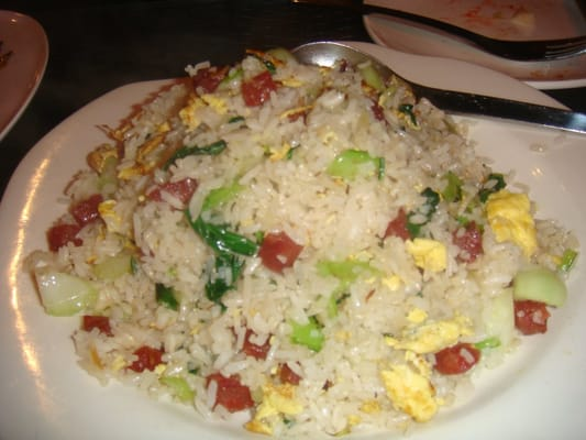 the best chinese sausage fried rice ever! | Yelp