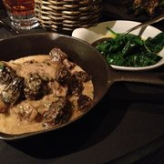 Pork special, with morels. Yummy!
