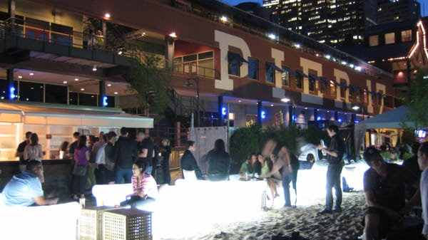 Beekman Beer Garden Beach Club Closed South Street Seaport New York Ny United States Yelp