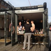 Pop-up bar