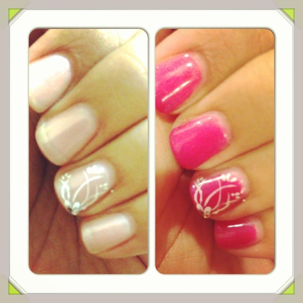 Mood nail polish, shellac manicure by Yvonne   Yelp