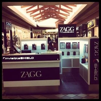 ZAGG kiosk inside Kitsap Mall   Yelp