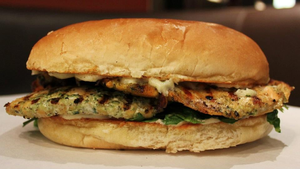 Grilled Marinated Salmon Sandwich! | Yelp