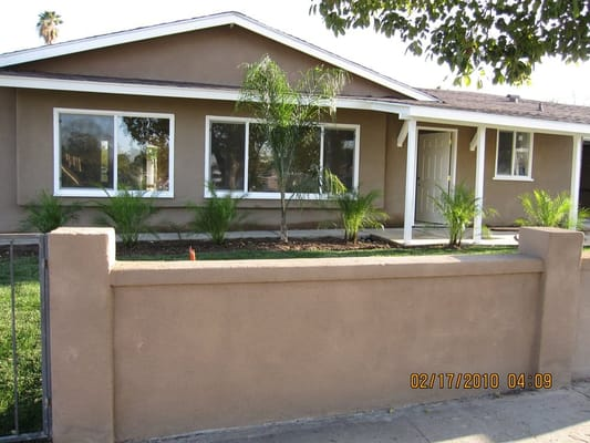 Spring valley home re stucco job by san diego paint pros Stucco modular homes
