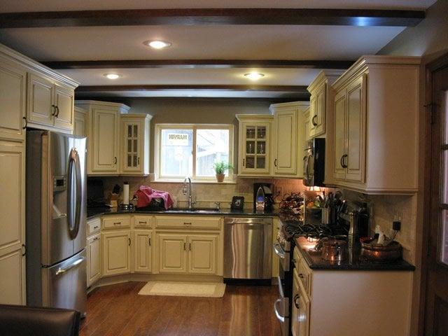 Kitchen Remodel Cabinets Granite Countertops Flooring
