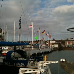 Shepherds Wharf, Cowes, Isle of Wight, UK