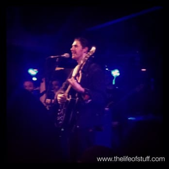 Hozier live - March 2014 - what a gig!