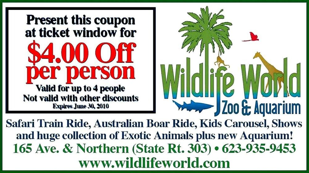 Caversham wildlife park discount coupons