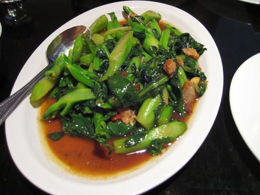 Salted fish and chinese broccoli yelp for Chinese salted fish