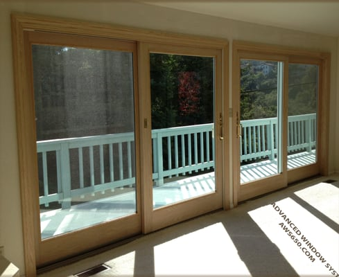 Advanced window contractors anderson 400 series french for Anderson french doors