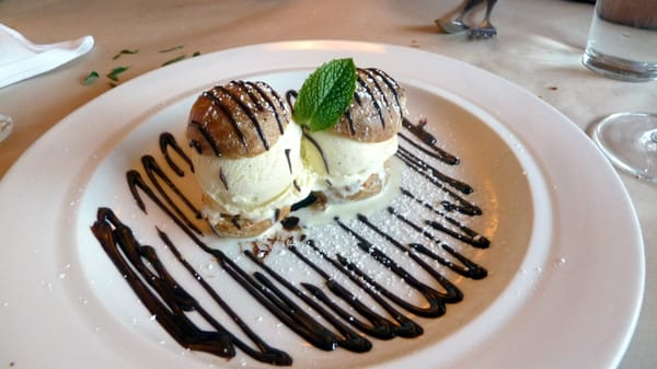 Profiteroles With Chartreuse Ice Cream Recipes — Dishmaps
