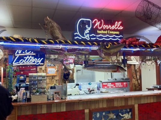 Worrell s seafood restaurant restaurants wilson nc for Fish restaurants near me