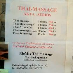 spa och massage thai vasastan