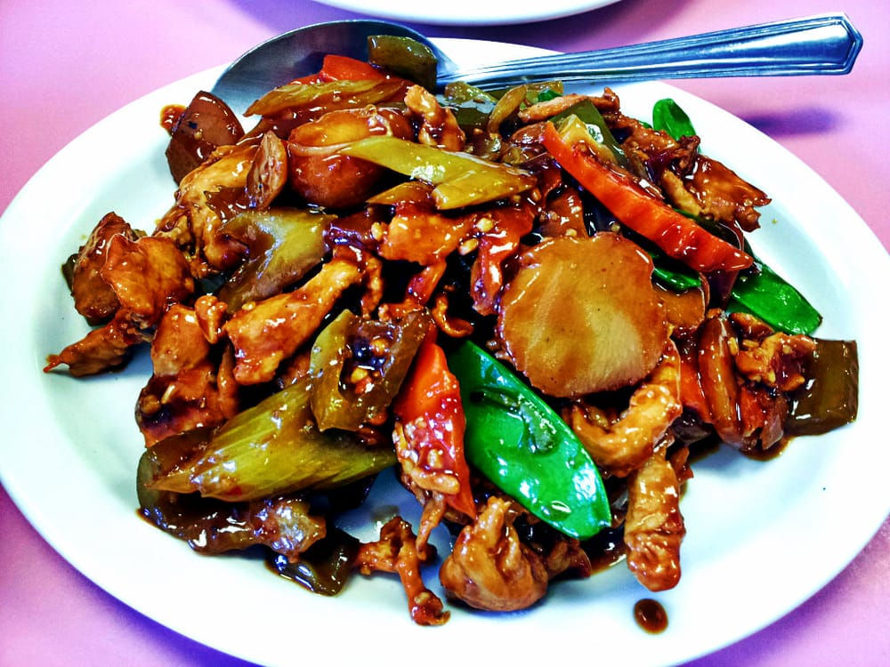 Chicken szechuan style take out