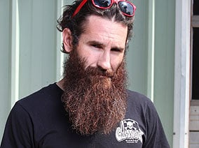 Aaron Kaufmann of Gas Monkey Garage & on the show FAST N' LOUD on the