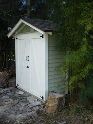 Narrow storage shed garden shed bunnings wooden for Garden shed bunnings