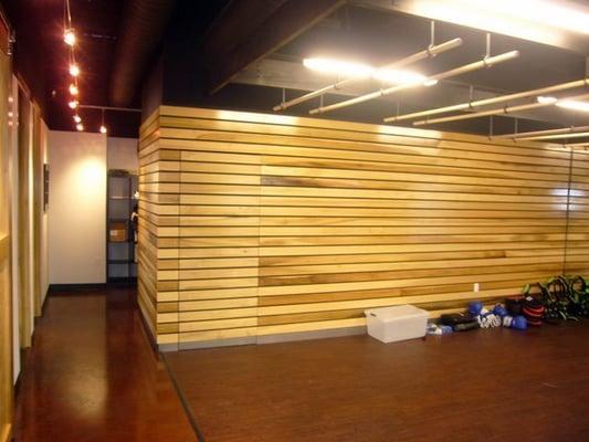 Wood Slat Wall The Image Kid Has It