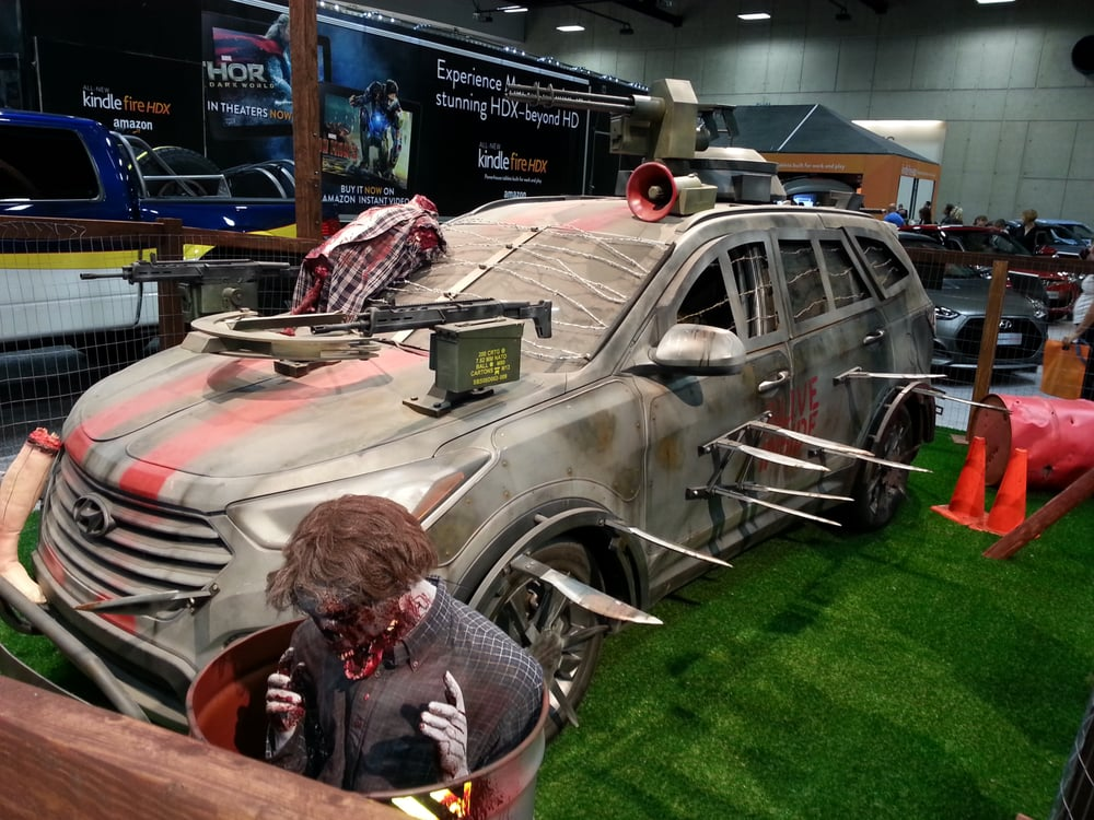 Zombie Apocalypse Vehicle Ready For Warfare Yelp