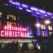 Selfridges spreading early holiday cheer!