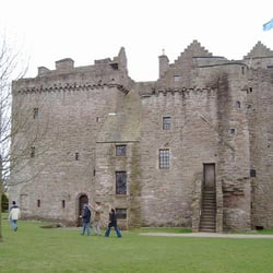 Huntingtower Castle, Perth