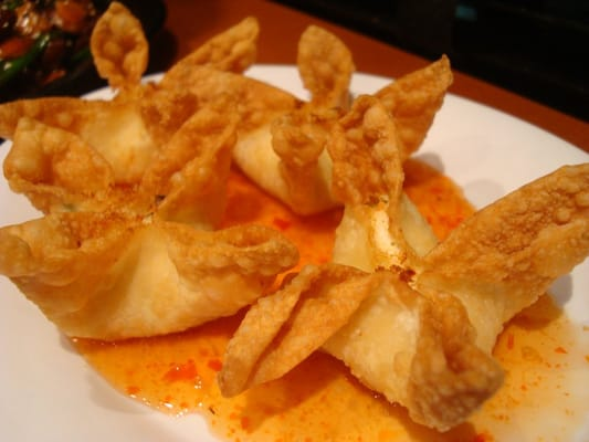 Real Crab cream cheese wontons | Yelp