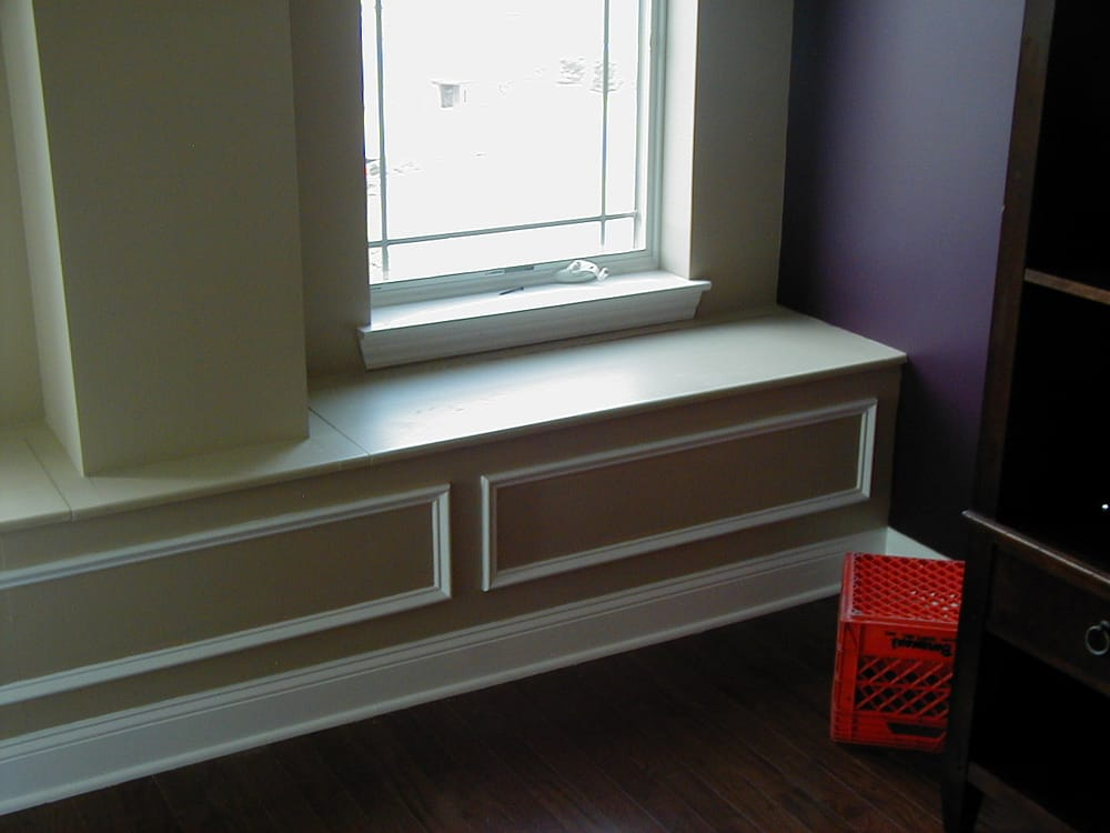 Built Bench Seat By Window With Storage Yelp