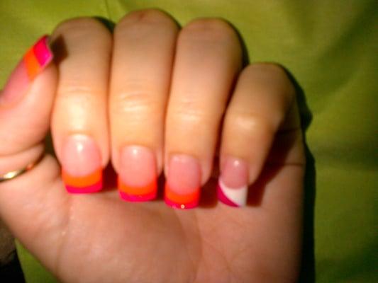 Neon Orange & Hot Pink | Yelp