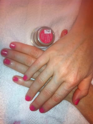 OPI Color gel manicure. | Yelp