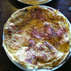 Bacon & apple pancake.