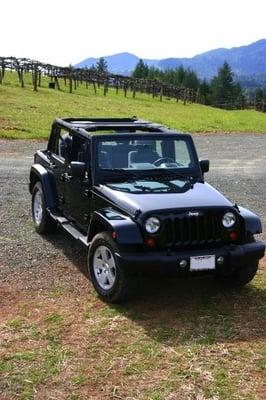 Napa Jeep Tours